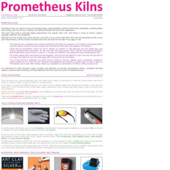 Prometheuskilns.co.uk thumbnail