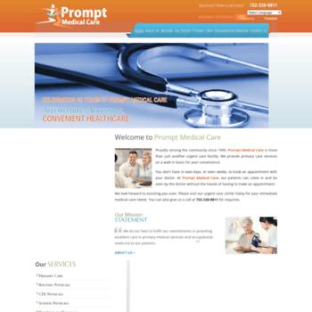 Promptmedicalcare.net thumbnail