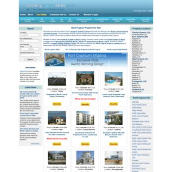 Propertycyprussales.com thumbnail