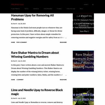 prophet666 com at WI  Prophet666
