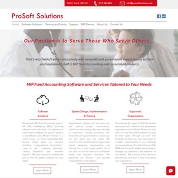 Prosoftsolutions.net thumbnail