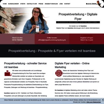 Prospektverteilung Hamburg De At Wi Prospektverteilung Flyer