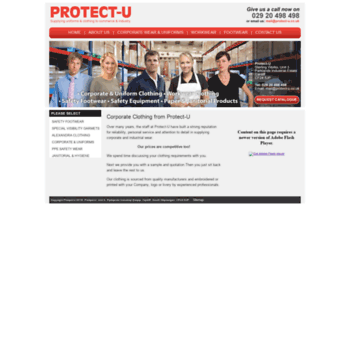 Protect-u.co.uk thumbnail