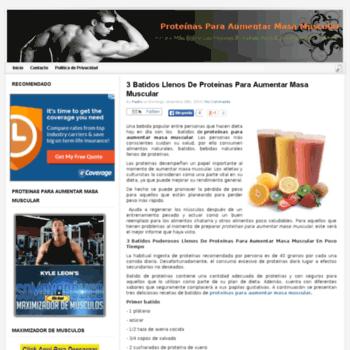 Proteinasparaaumentarmasamuscular.net thumbnail