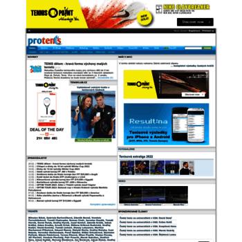 Protenis.cz thumbnail