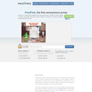 Proxfree.org thumbnail