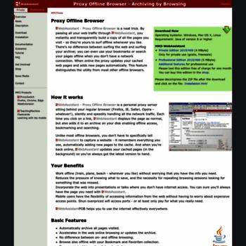 proxy-offline-browser com at WI  MM3-WebAssistant - Proxy Offline