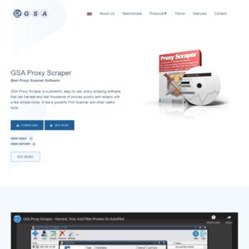 proxy-scraper gsa-online de at WI  GSA Proxy Scraper, proxy