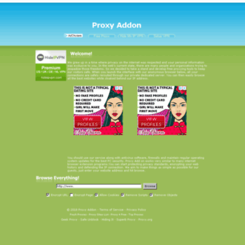 proxyaddon com at WI  Proxy Addon - Enable Your Privacy Browser
