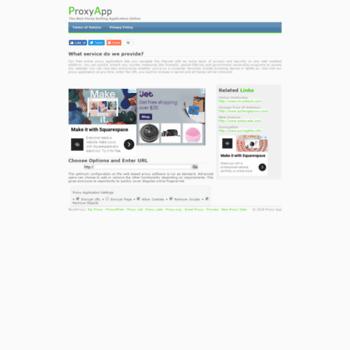 Proxyapp.org thumbnail