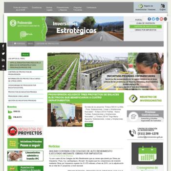 Proyectosapp.pe thumbnail