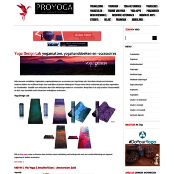 Proyoga.nl thumbnail