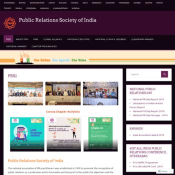 Prsi.org.in thumbnail