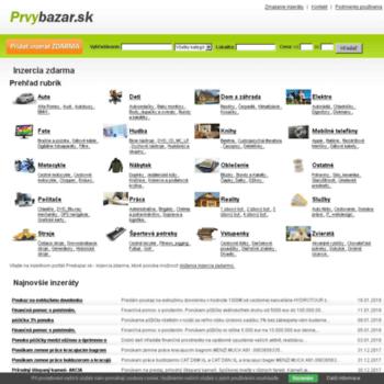 Prvybazar.sk thumbnail