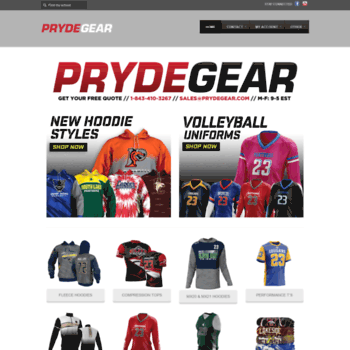 27e85932aaa prydegear.com at WI. Home - Pryde Gear