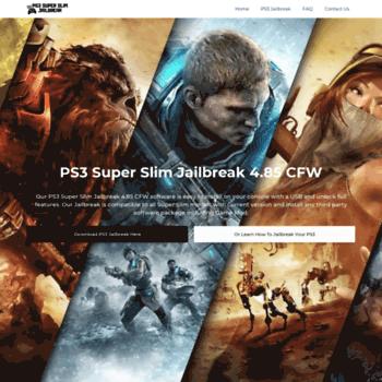 ps3superslimjailbreak com at WI  Download PS3 Jailbreak 4 84 CFW