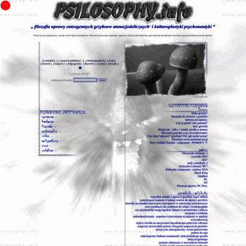 Psilosophy.info thumbnail