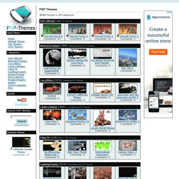 Psp-themes.net thumbnail