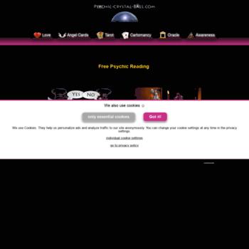psychic-crystal-ball com at WI  Psychic-Crystal-Ball com | Free