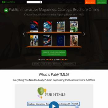 pubhtml5 com at WI  Free HTML5 Digital Publishing Platform