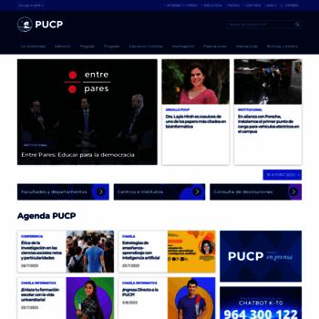 Pucp.edu.pe thumbnail