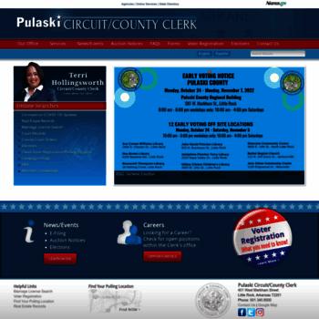 pulaskiclerk com at WI  Pulaski Circuit/County Clerk