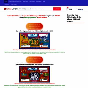Punjablottery.in thumbnail