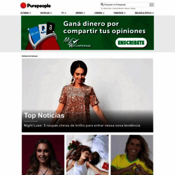 c751ad331 purepeople.com.br at WI. Famosos – notícias e fotos das celebridades ...