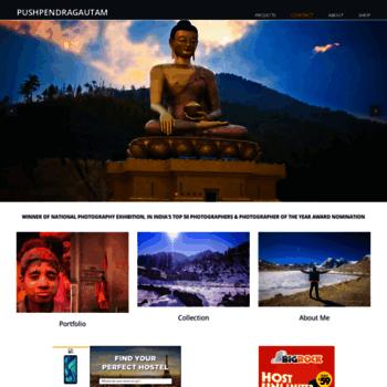 Pushpendragautam.in thumbnail