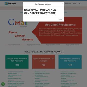 pvacorner com at WI  Pvacorner com: Buy Affordable PVA