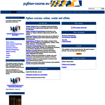 Python-course.eu thumbnail