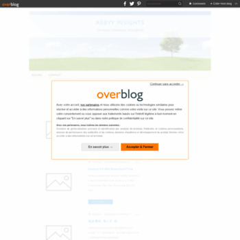 Веб сайт qaepalloce.over-blog.com