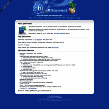 Qbittorrent.org thumbnail