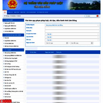 Qppl.lamdong.gov.vn thumbnail