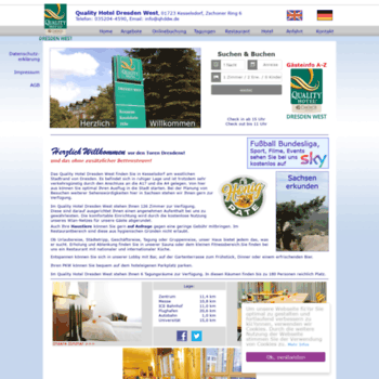 Quality-hotel-dresden-west.de thumbnail