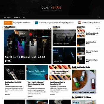Qualityecigs.co.uk thumbnail