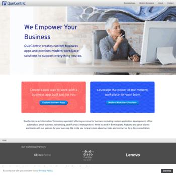 quecentric com at WI  FileMaker Developer, Web Development, Apple