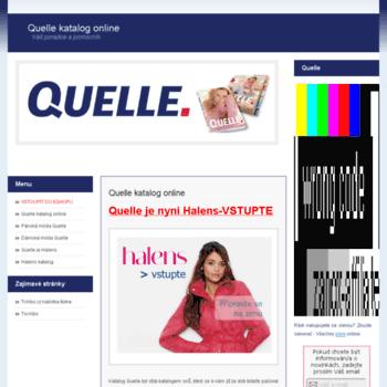 Quelle-katalog-online.cz thumbnail