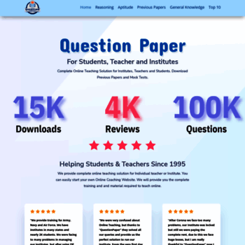 Questionpaper.org thumbnail