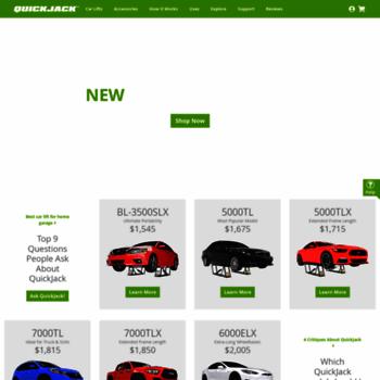 Quick Jack Com >> Quickjack Com At Wi Quickjack Car Lift For Your Garage Or Shop