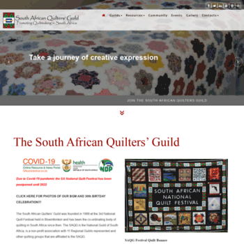 Quiltsouthafrica.co.za thumbnail