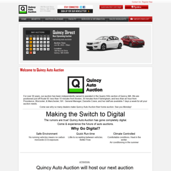 Quincy Auto Auction >> Quincyauction Com At Wi Car Dealer Auto Auctions In Ma Quincy