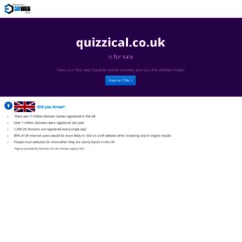 Quizzical.co.uk thumbnail