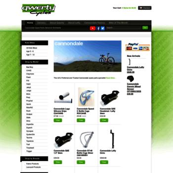 Qwertycycles.co.uk thumbnail