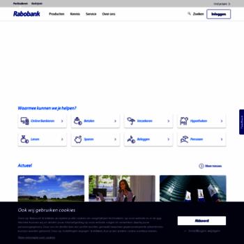 Rabobank.nl thumbnail