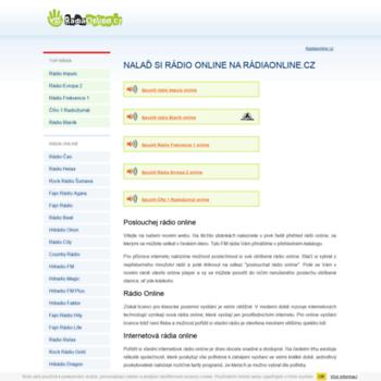 Radiaonline.cz thumbnail