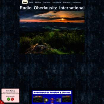 Radio-oberlausitz-international.de thumbnail