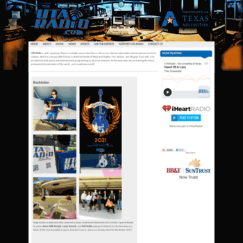 Radio.uta.edu thumbnail