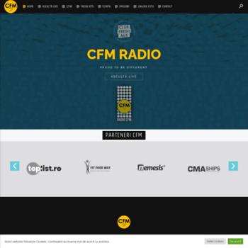 Radiocfm.ro thumbnail