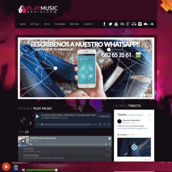 Radioplaymusic.es thumbnail
